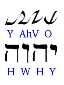 Chart of Hebrew and D'ni Alphabets
