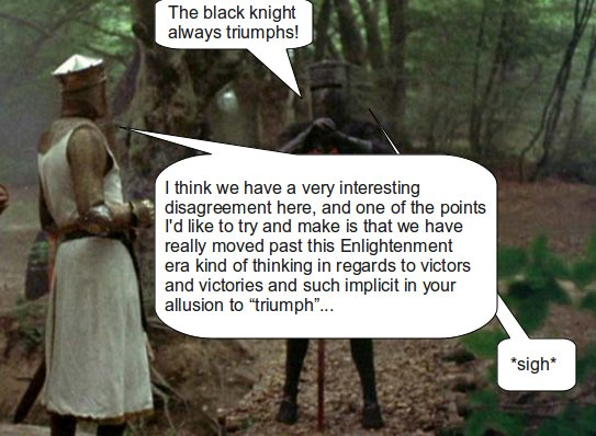 Monty Python & The Postmodern Progressive Cup