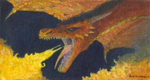 Smaug the Magnificent by Brad Carraway
